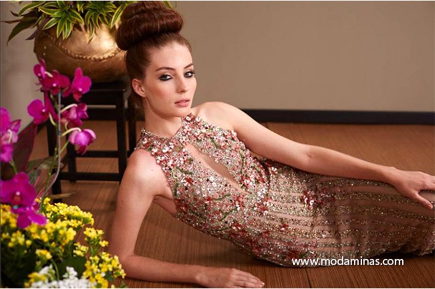 8a538ba3f PATCHOULEE moda festa, vestidos mídis e longos - Modaminas Guia de ...